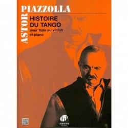 Partition flûte Histoire du Tango HL28224 Le kiosque à musique Avignon