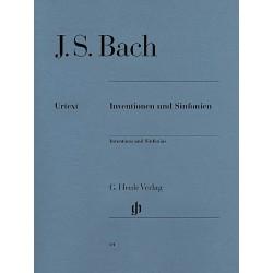 Partition piano Inventions de Bach HN589 Kiosque musique Avignon
