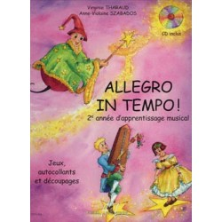 ALLEGRO IN TEMPO - AVEC CD