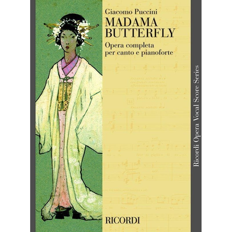 PARTITION MADAMA BUTTERFLY CP11000005 LE KIOSQUE A MUSIQUE
