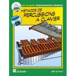 Gert Bomhof Méthode de percussions à clavier DHP0991684 le kiosque à musique Avignon