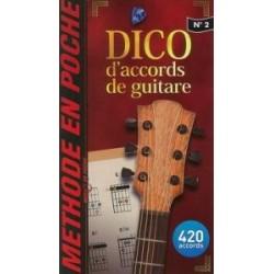 MINI DICTIONNAIRE D'ACCORDS DE GUITARE (MUSIC EN POCHE 2)